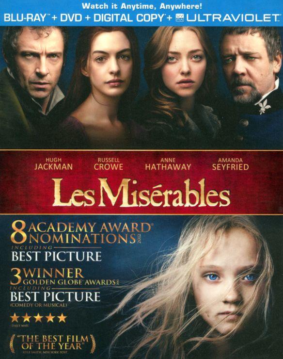 Les Miserables [2 Discs] [Includes Digital Copy] [UltraViolet] [Blu-ray/DVD] [2012] 8486427