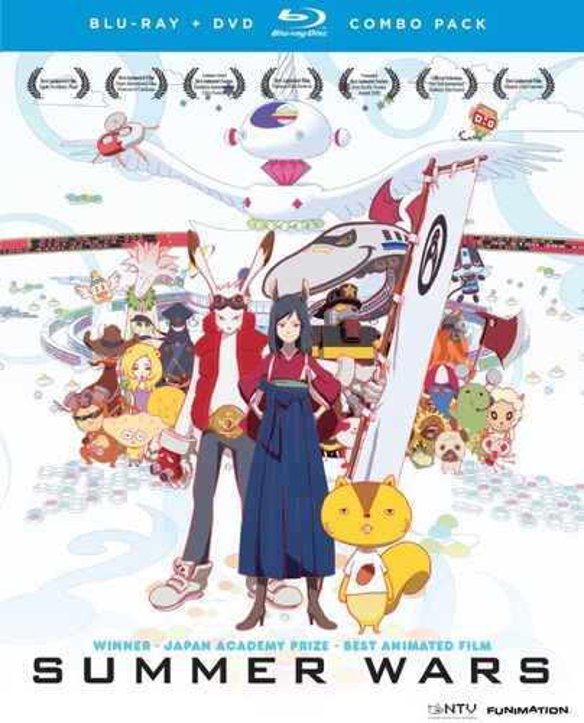 Summer Wars [3 Discs] [Blu-ray/DVD] [2009] 8495085