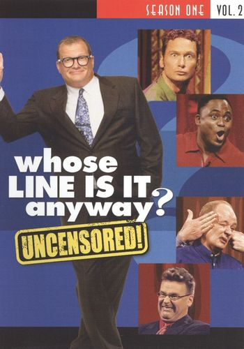 Whose Line Is It Anyway: Season 1, Vol. 2 [Uncensored] [2 Discs] [DVD] 8495513