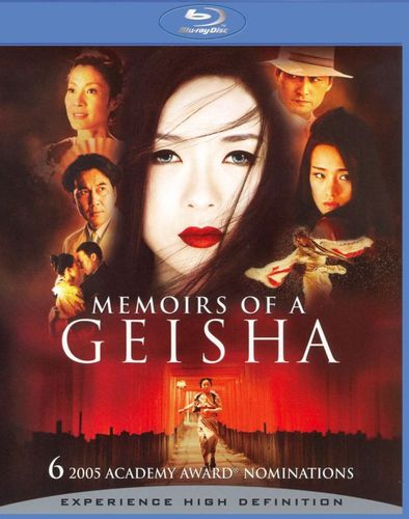Memoirs of a Geisha [Blu-ray] [2005] 8501944