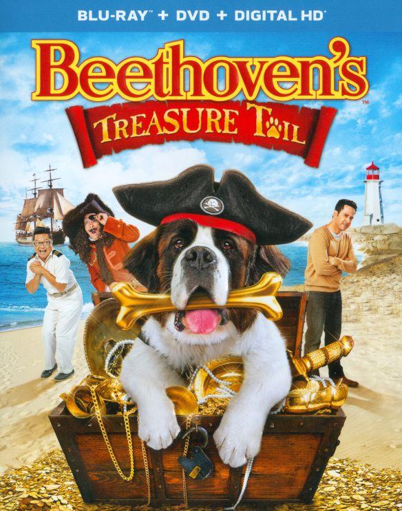 Beethoven's Treasure Tail [2 Discs] [Blu-ray/DVD] [2014] 8506133