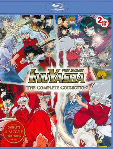 Inu Yasha: The Movie - The Complete Collection [2 Discs] [Blu-ray] 8520064