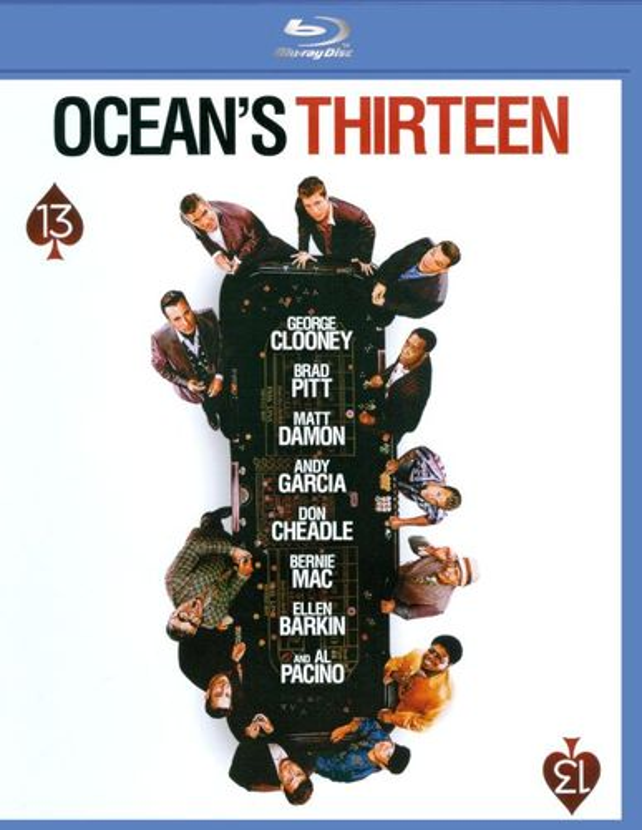 Ocean's Thirteen [Blu-ray] [2007] 8521888