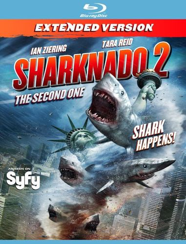 Sharknado 2: The Second One [Blu-ray] [2014] 8526002