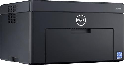 Dell - C1760nw Wireless Color Printer - Black