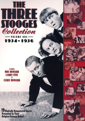 The Three Stooges Collection 1934-1936 [2 Discs] [DVD] 8531369