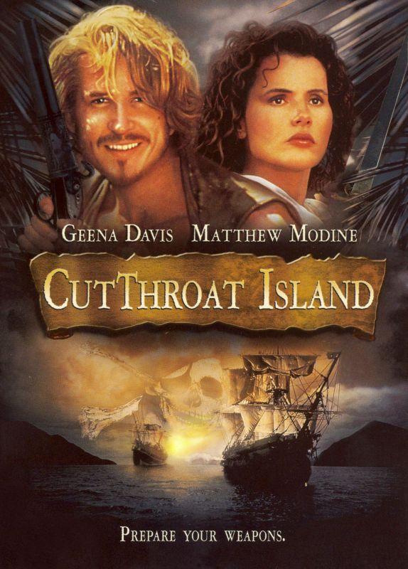 Cutthroat Island [DVD] [1995] 8532126