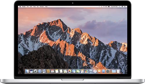 "Apple - MacBook Pro with Retina display - 13.3"" Display - 8GB Memory - 128GB Flash Storage - Silver"