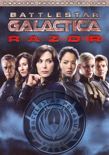 Battlestar Galactica: Razor [Unrated Extended Edition] [DVD] [2007] 8534099