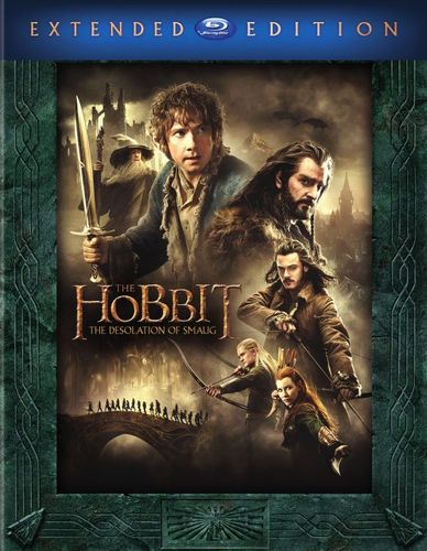The Hobbit: The Desolation of Smaug [3 Discs] [Includes Digital Copy] [UltraViolet] [Blu-ray] [2013] 8540036
