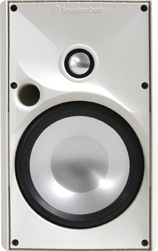 "SpeakerCraft - OE6 Three 6-1/2"" 2-Way Outdoor Speaker (Each) - White"