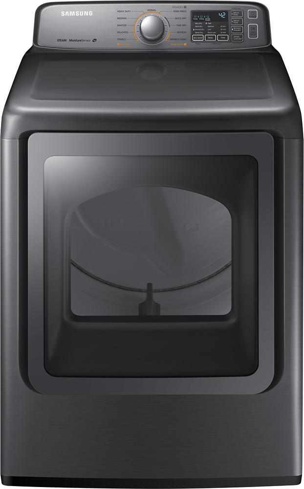 Samsung 7.4 Cu. Ft. 11-Cycle Steam Electric Dryer Platinum DV48H7400EP