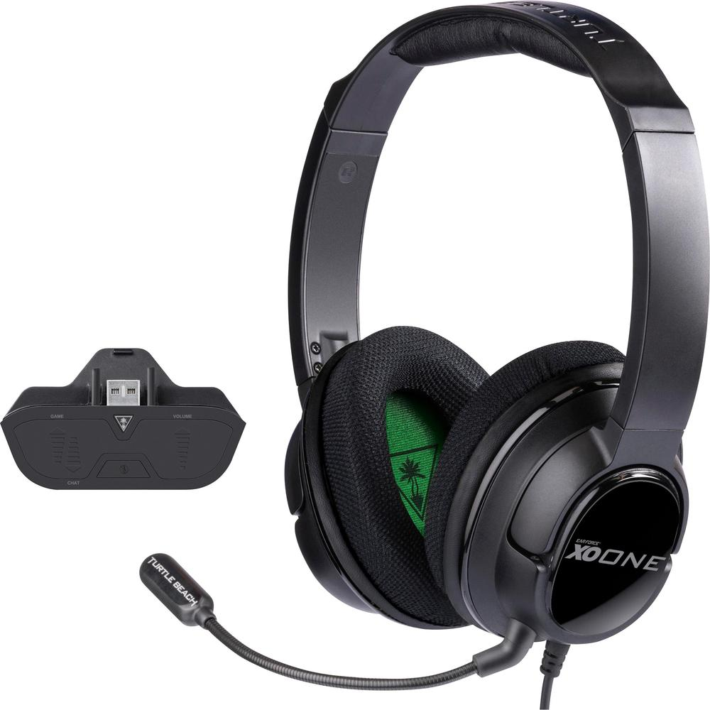 Turtle Beach - Ear Force XO ONE Wired Stereo Gaming Headset for Xbox One - Black