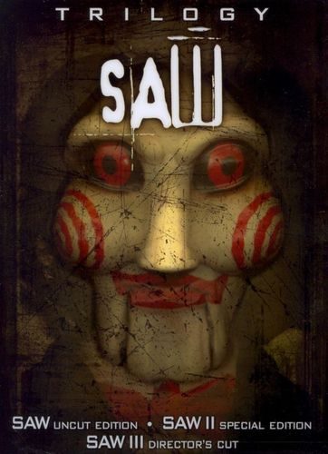 Saw Trilogy [6 Discs] [Special Limited Edition 3-D Puppet Head Box] [DVD] 8561745