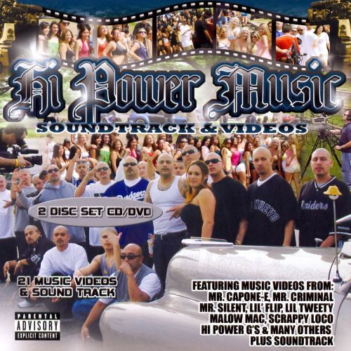 Hi Power Music: Music Videos And Soundtrack [pa] - Various - Cd
