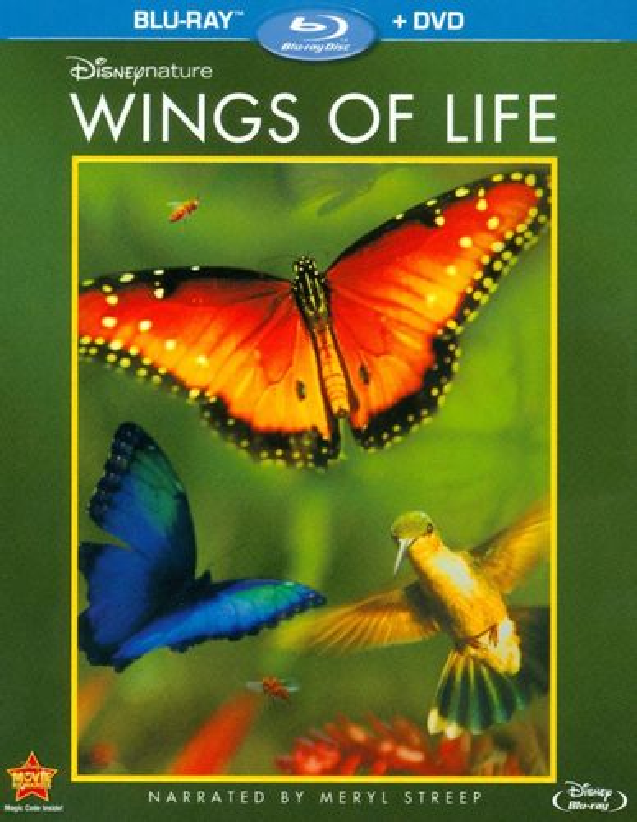 Disneynature: Wings of Life [2 Discs] [Blu-ray/DVD] [2011] 8566317