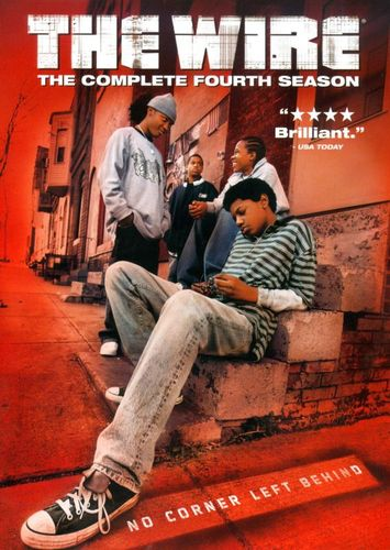 The Wire: The Complete Fourth Season [4 Discs] [DVD] 8579905