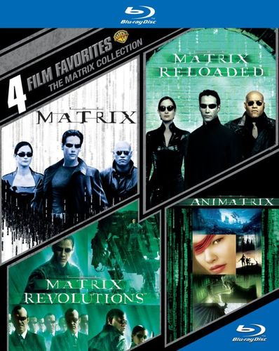 The Matrix Collection: 4 Film Favorites [4 Discs] [Blu-ray] 8610029