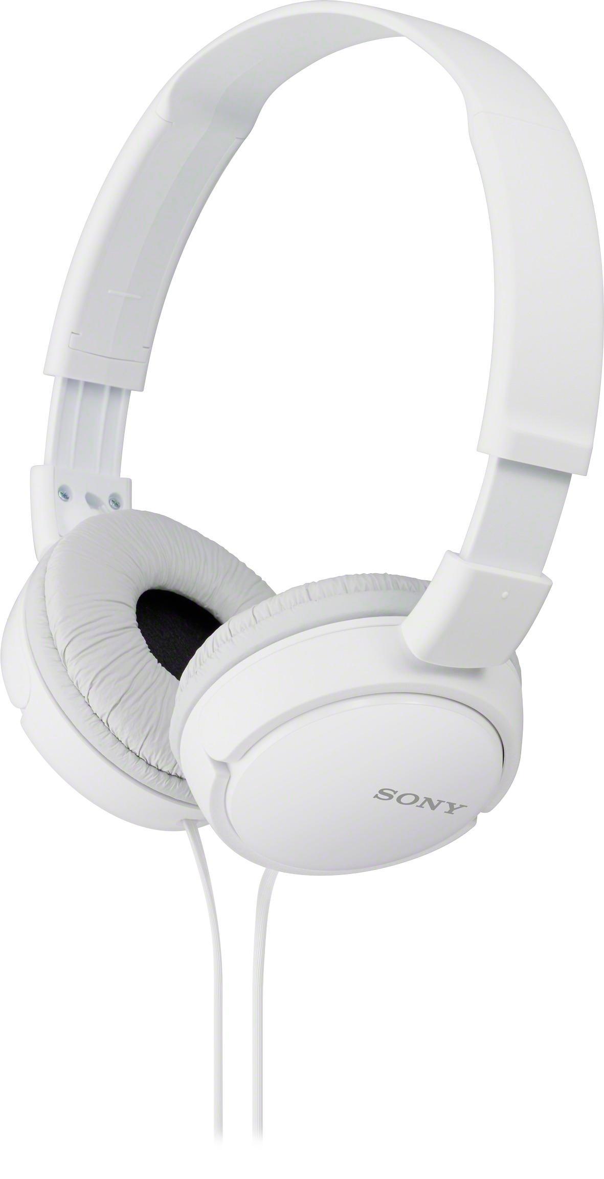Sony ZX Series On-Ear Headphones White MDRZX110/W