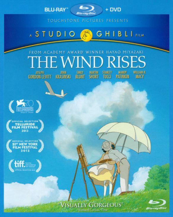 The Wind Rises [2 Disc] [Blu-ray/DVD] [2013] 8618877