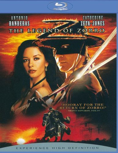 The Legend of Zorro [Blu-ray] [2005] 8623448