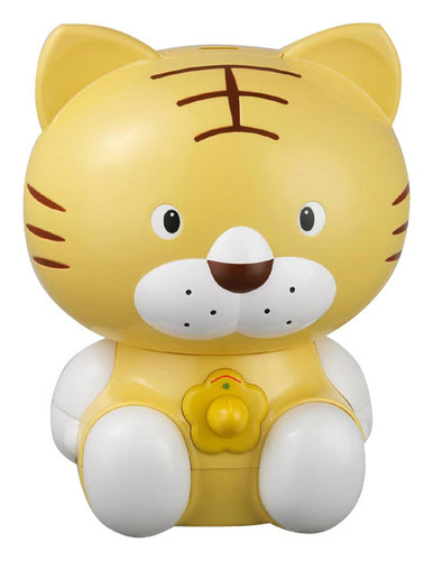 SPT - Cute Animal Series Tiger 0.48 Gal. Ultrasonic Cool Mist Humidifier - Yellow 8632239