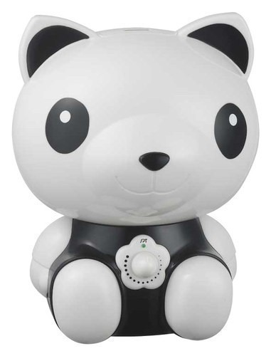 SPT - Cute Animal Series Panda 0.48 Gal. Ultrasonic Cool Mist Humidifier - Black/White 8632248