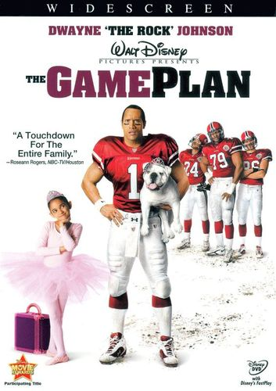 The Game Plan [WS] [DVD] [2007] 8644318