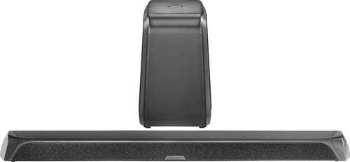 Insignia™ - 2.1-Channel Soundbar with Wireless Subwoofer - Black