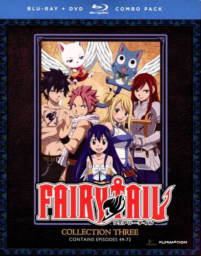 Fairy Tail: Collection Three [2 Discs] [Blu-ray/DVD] 8651101