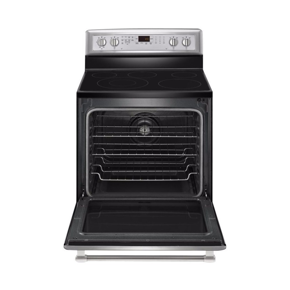 Maytag 6.2 Cu. Ft. Self-Cleaning Freestanding Electric Convection Range Stainless steel MER8800DS