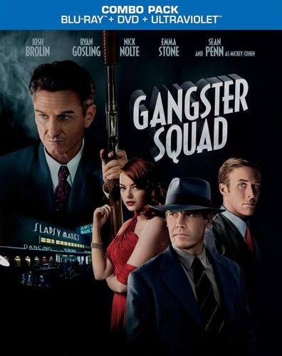 Gangster Squad [2 Discs] [Includes Digital Copy] [UltraViolet] [Blu-ray/DVD] [2013] 8672156