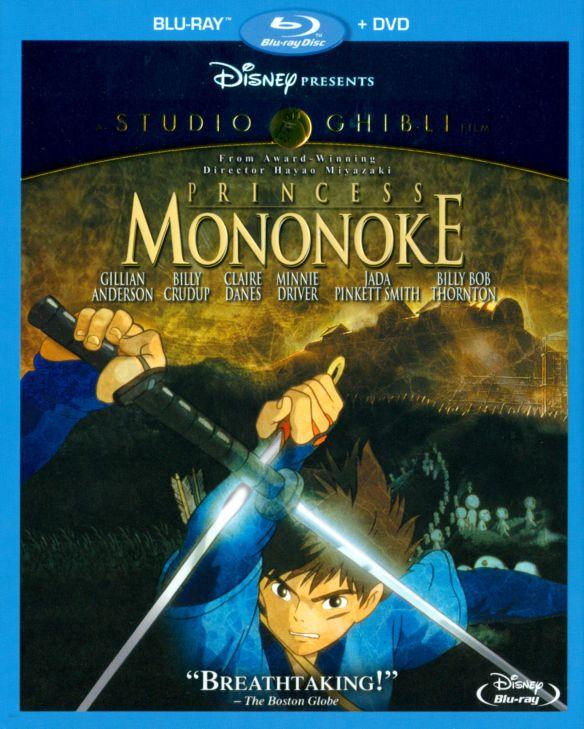 Princess Mononoke [2 Discs] [Blu-ray/DVD] [1997] 8695001