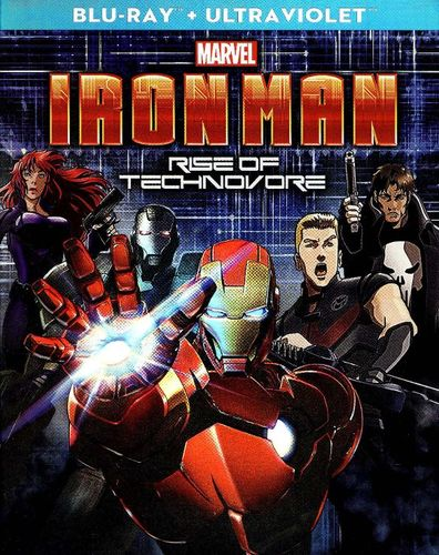 Iron Man: Rise of Technovore [Includes Digital Copy] [UltraViolet] [Blu-ray] [2013] 8714292