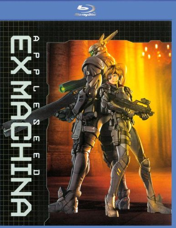 Appleseed Ex Machina [Blu-ray] [2007] 8725052