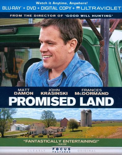 Promised Land [2 Discs] [Includes Digital Copy] [UltraViolet] [Blu-ray] [2012] 8730175