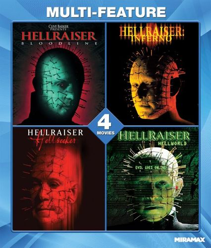 Hellraiser Collection [Blu-ray] 8731656