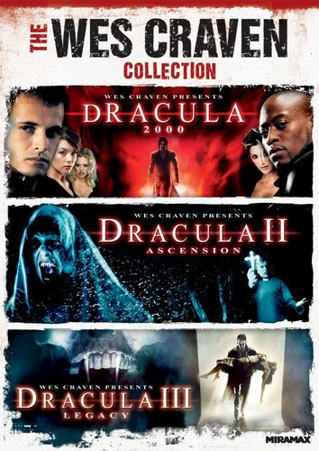 The Wes Craven Collection: Dracula 2000/Dracula II - Ascension/Dracula III - Legacy [DVD] 8731783