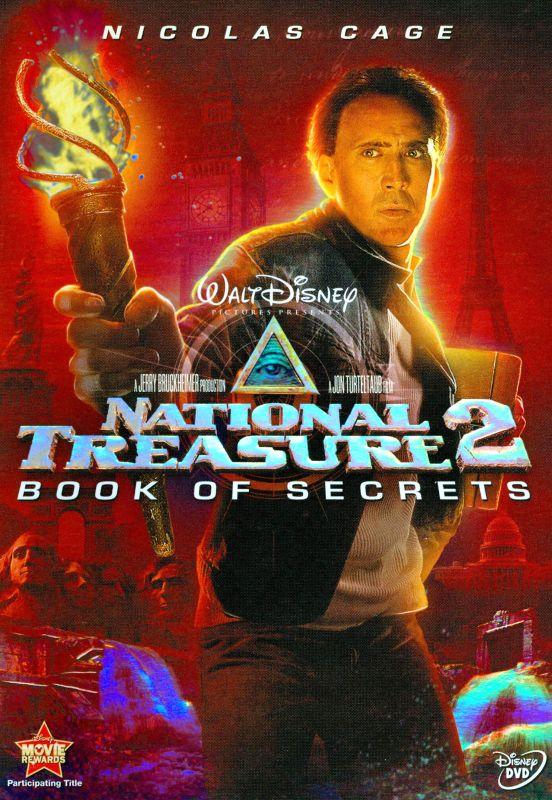 National Treasure 2: Book of Secrets [DVD] [2007] 8741659