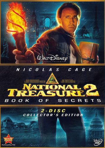 National Treasure 2: Book of Secrets [Gold Collector's Edition] [2 Discs] [DVD] [2007] 8741668