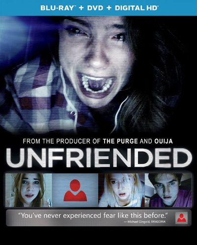 Unfriended [2 Discs] [Blu-ray/DVD] [2014] 8747115