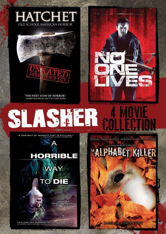 Slasher: 4 Movie Collection [4 Discs] [DVD] 8752269