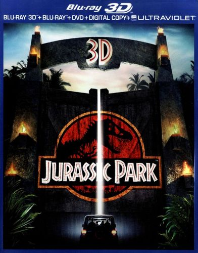 Jurassic Park [3 Discs] [Includes Digital Copy] [UltraViolet] [3D] [Blu-ray/DVD] [Blu-ray/Blu-ray 3D/DVD] [1993] 8760041