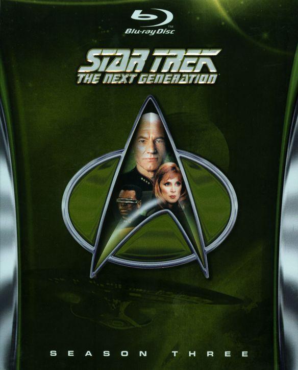 Star Trek: The Next Generation - Season Three [6 Discs] [Blu-ray] 8762067