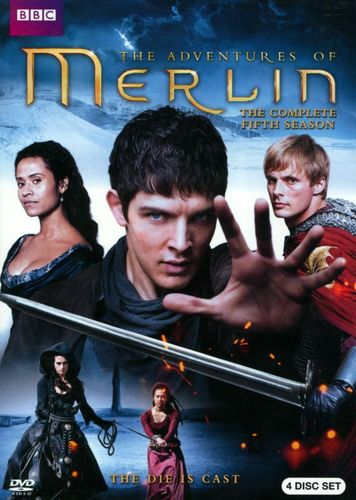 Merlin: The Complete Fifth Season [4 Discs] [DVD] 8762085