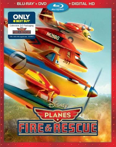 Planes: Fire & Rescue [Includes Digital Copy] [Blu-ray/DVD] [Collectable Package] [Only @ Best Buy] [2014] 8767273