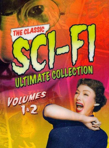 The Classic Sci-Fi Ultimate Collection, Vol. 1 and 2 [6 Discs] [DVD] 8771652