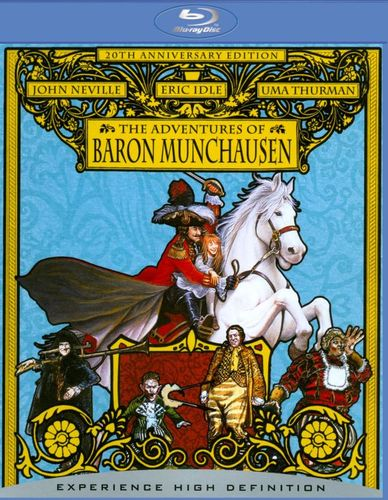 The Adventures of Baron Munchausen [Blu-ray] [1989] 8772688