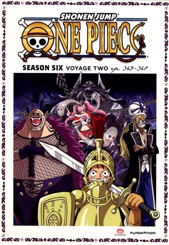 One Piece: Season Six - Voyage Two [2 Discs] [DVD] 8784539
