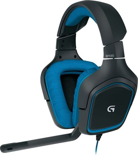 Logitech - G430 Over-the-Ear Gaming Headset - Black